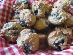 Mennonite Girls Can Cook: Almond Blueberry Muffins (Gluten, dairy free with egg free option)