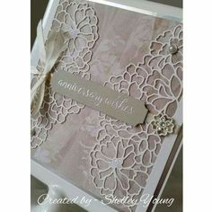 Stampin' Up! So Detailed Thinlits Dies, Falling for You stamp set, Falling in Love Designer Series Paper, Falling in Love Embellishments