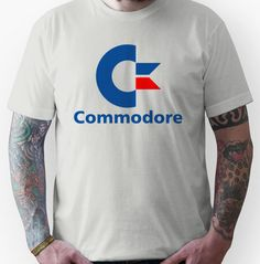 Classic Commodore C64 Graphic T-shirt for Men or Women