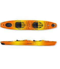 Einer Bootsport Kajaks Kajak Freizeitkajak zum Auseinandernehmen Point65 Martini in gelb-orange