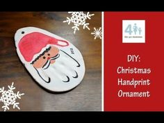 HOLIDAY: DIY Christmas Handprint Ornament