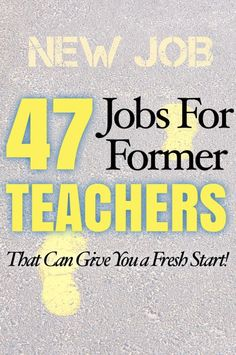Done With Teaching? Here's How to Get a Second Career - Done With Teaching? Here's How to Get a Second Career Discover all kinds of jobs for former tea - Education Degree, Education Jobs, Education College, Health Education, Jobs For Former Teachers, Career Change For Teachers, Teaching Career, Teaching Technology, New Career