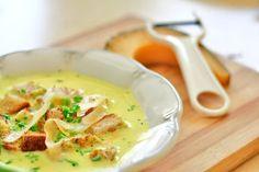 Zupa serowa | Przepisy kulinarne - Codogara.pl | Cheese soup http://www.codogara.pl/8904/zupa-serowa/