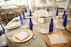 Saratoga Water - great for an accent at events to make your table  decor pop - and pops in your mouth also!