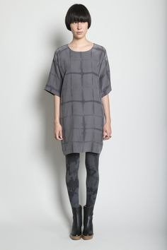 Shabd Bedrock Dress (Cobblestone)