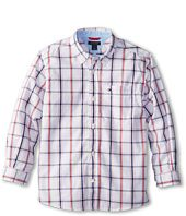 Tommy Hilfiger Kids  Samuel Plaid Shirt (Toddler/Little Kids)