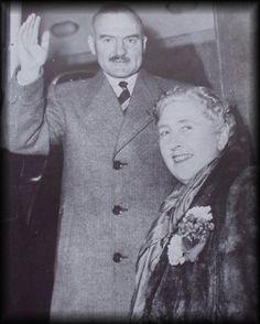 Agatha with husband Max Mallowan...1950