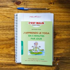 J apprends le yoga e