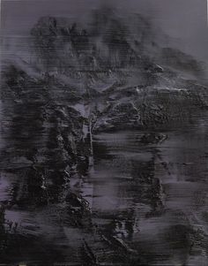CONRAD J. GODLY   weder tag noch nacht 2 2013, 200x160 cm, privatsammlung öl auf leinwand Conrad Jon Godly, Abstract Landscape, Abstract Art, Bad Picture, Textures Patterns, Book Art, Waterfall, Artwork, Painting