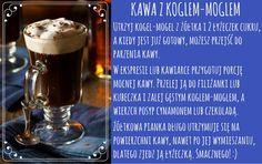 Kawa i kogiel-mogiel to świetny duet - przekonaj się sam! #kogiel-mogiel #kawa #coffee Smoothies, Tableware, Smoothie, Dinnerware, Tablewares, Dishes, Place Settings, Smoothie Packs, Fruit Shakes