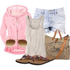 Summer outfit pink love it