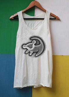 Lion Shirt Simba Shirt the lion king shirt Tank Top TShirt Top Softly Women – size S M L on Etsy, $16.97 CAD