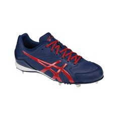 Men's ASICS Base Burner Baseball Cleat ($100) ❤ liked on Polyvore featuring men's fashion, men's shoes, athletic, lace up shoes, mens baseball shoes, asics mens shoes, mens lightweight running shoes, mens wedge shoes and mens spiked shoes