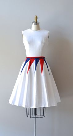 1950's Cotton Windjammer Dress