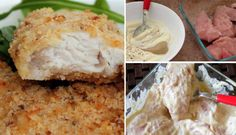 Jemné a šťavnaté masíčko - zapékaná kuřecí prsa Slovak Recipes, Russian Recipes, Poultry, Mashed Potatoes, Menu, Treats, Chicken, Ethnic Recipes, Cooking