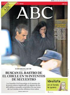 La portada de ABC del viernes 5 de enero
