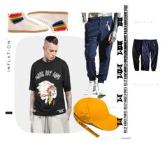 """апачи_не_плачут"" by lara-samkova on Polyvore featuring Gucci, men's fashion и menswear"