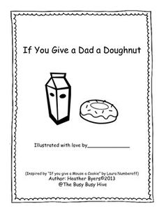 If You Give a Dad a Doughnut {A Father's Day Story}