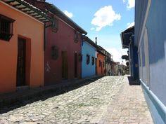 casas coloniales en La Candelaria