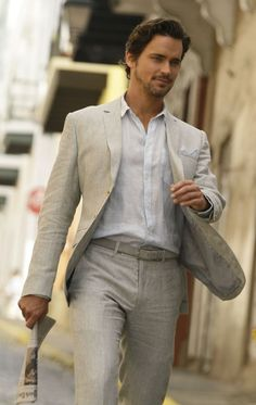 Matt Bomer is Christian Grey!!!! ???? But who cares, love this outfit...