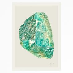 Aventurine Mix (No. 1) quartz mineral print by Hamish Robertson for Future Desert – Vacation Days | By Hamish Robertson