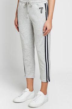 MARKUS LUPFER - Pearl 7 Daria Jogging Pants | STYLEBOP Grey Style, Markus Lupfer, Grey Fashion, Jogging, Sweatpants, Pearl, Shopping, Women, Clothing