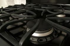 How to Clean the Cast Iron Grates on a Gas Range