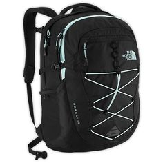 The North Face Borealis Backpack ($89) ❤ liked on Polyvore featuring bags, backpacks, padded bag, the north face, day pack backpack, mesh backpack and rucksack bag