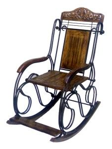 desi karigar wooden & iron rocking chair Home sweet home Metal Chairs, Cool Chairs, Awesome Chairs, Brown Outdoor Furniture, Wooden Furniture, Mobiles, Sweet Home, Online Furniture Stores, Furniture Shopping