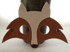 Kids Fox Mask by iCROWNyou on Etsy, $10.00