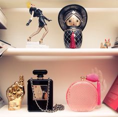 chanel & lanvin accessories c/o the coveteur