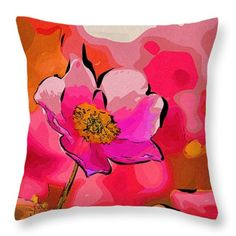 Art Prints Flowers Throw Pillow  #flowers #art #poster #gifts