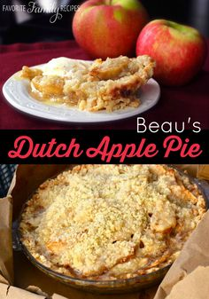 This is by far my husband's favorite apple pie. It is so yummy. #applepie #applepierecipe
