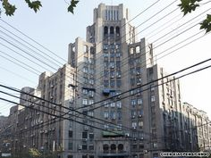 Hamilton House   Shanghai Art Deco Building designed by Palmer & Turner and built in 1931