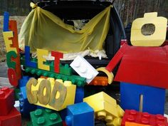 #lego trunk or treat for church fall fest.