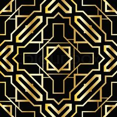 Vector of 'Art deco geometric pattern (1920's style)'