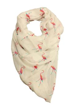 Flamingo Scarf-- omg I HAVE to have this.