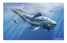 More placoderm (Dunkleosteus) love! ~ Art by ~dustdevil @ deviantART http://dustdevil.deviantart.com/ devoniab