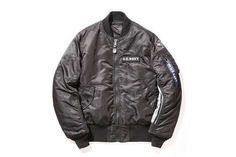 Co-Branded Fighter Jackets - uniform experiment and Alpha Industries Designed This Reversible Jacket