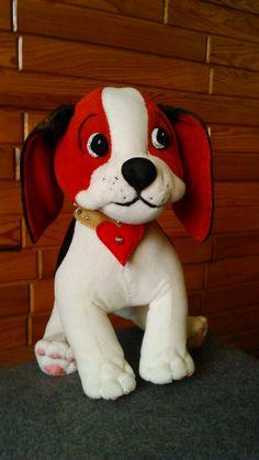 A little dog. Handmade by Alina Wodzińska