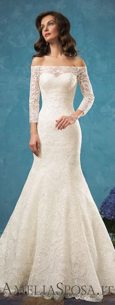 Modest Chiffon Scoop Neckline A-line Wedding Dresses with Beaded ...