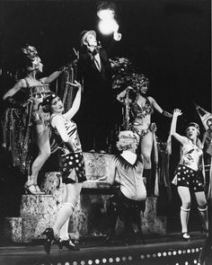 Joel Grey as the Master of Ceremonies in Hal Prince's original Broadway production of Cabaret in 1966.