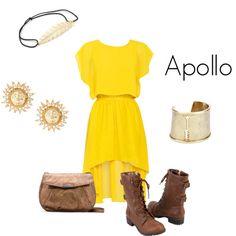 Apollo from Greek Mythology.