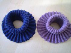 365 saker du kan slöjda » Sticka halsskydd! Baby Knitting Patterns, Crochet Patterns, Free Crochet, Knit Crochet, Neck Warmer, Cowl Neck, Loom, Crochet Earrings, Projects To Try