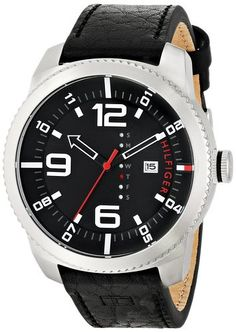 Tommy hilfiger Hombre 1791014 N/a Reloj Acero inoxidable Negro