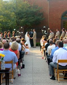 Perfect for outdoor weddings