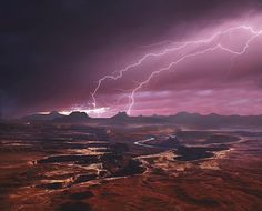 Thunder on the Green River in Utah by Alex Suloev  wunderground.com