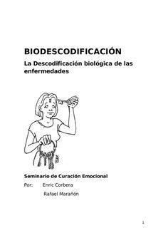 Biodescodificación la descodificación biologica de las enfermedades e…