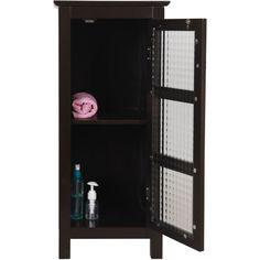 windham floor cabinet with glass door