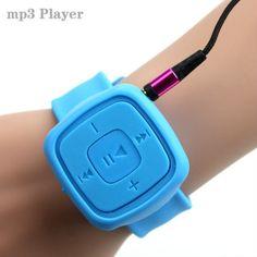 Спортивные Часы Мини Mp3-плеер Портативный Музыкальный Плеер С Micro TF Слот Для Карты (ТОЛЬКО MP3) можно Использовать Как USB Flash Блюдо